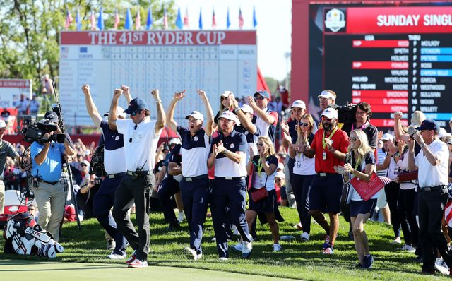 US Beats Europe to Claim Ryder Cup