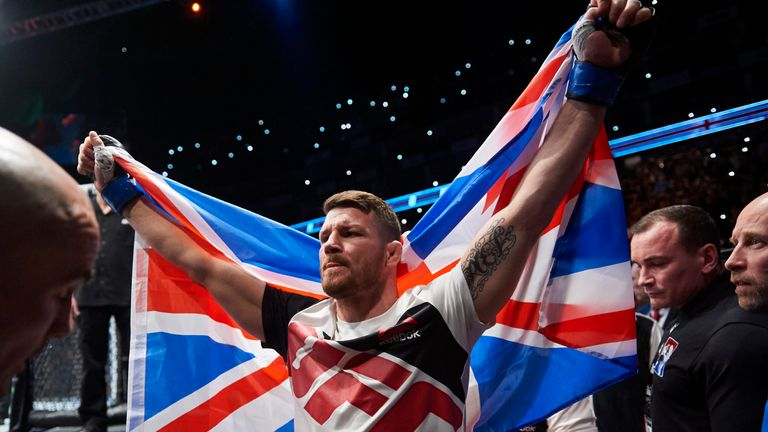 Michael Bisping will defend his title for the first time on Saturday