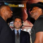 Joshua vs Molina: Dereck Chisora hopes face-off with Dillian Whyte will go ahead in fight week