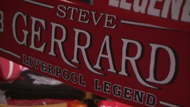 Steven Gerrard to make Anfield playing return