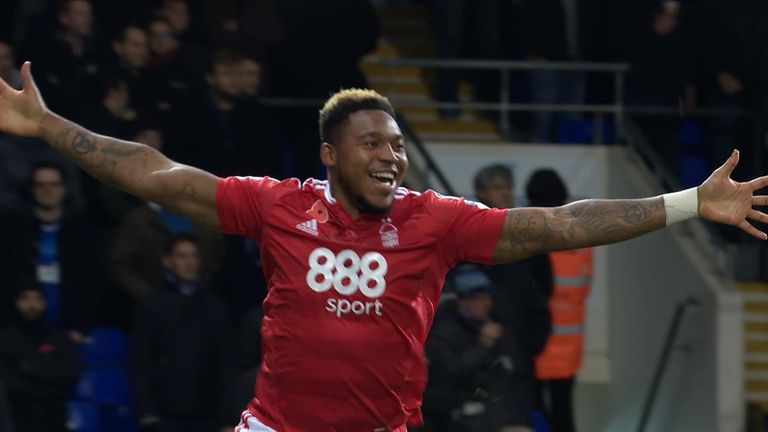 Britt Assombalonga will return for Nottingham Forest
