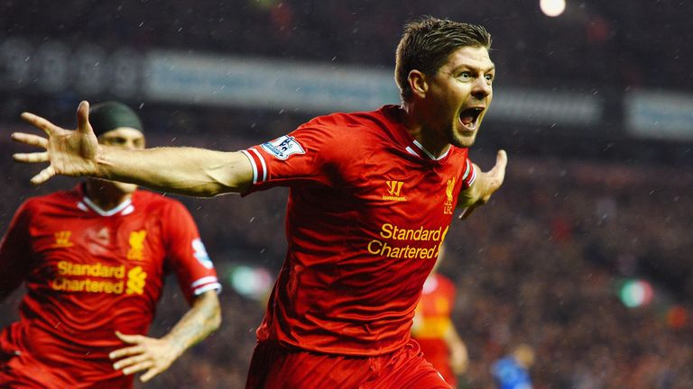 Steven Gerrard to make Anfield playing return