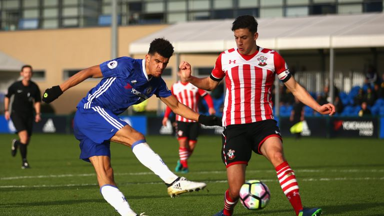 Dominic Solanke's Chelsea contract is up in the summer