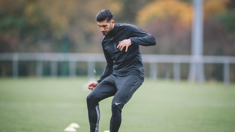 Emre Can hard at work in Nike Football's Training Apparel