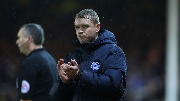 Grant McCann: No new worries for Peterborough boss