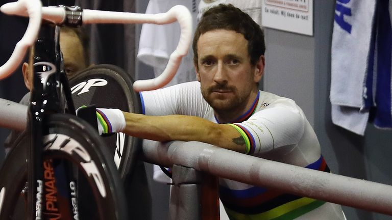 Sir Bradley Wiggins is still pondering his future