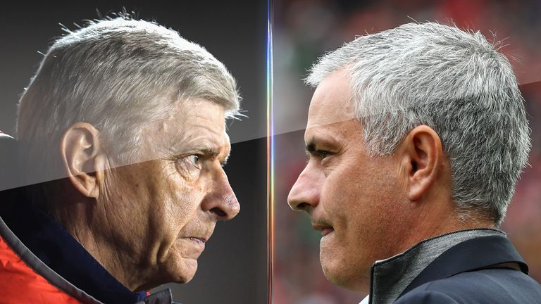 Arsene Wenger and Mourinho will go head-to-head at Old Trafford on Saturday