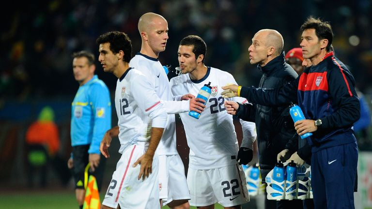 Bradley's USA were eliminated by Ghana at the 2010 World Cup