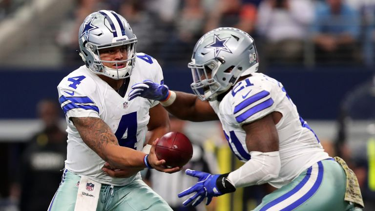 The 'Dak and Zeke' rookie combo has continued to impress throughout the season
