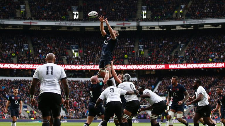 England beat Fiji 58-15 at Twickenham in November