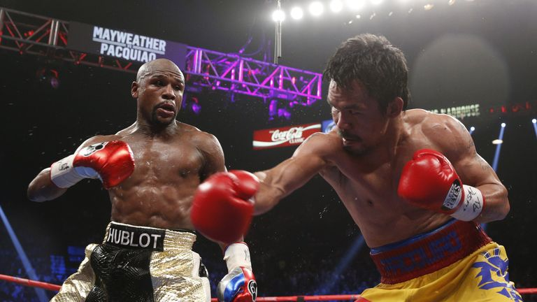 floyd mayweather vs manny pacquiao rematch 75 per cent likely to