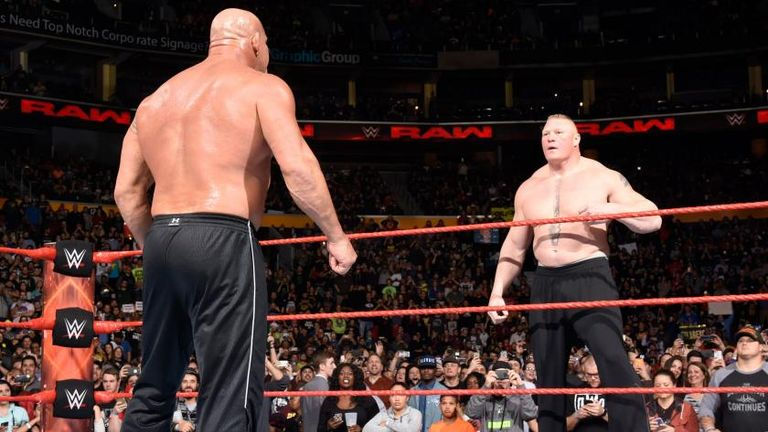 Stone Cold says fan wanted him in last Goldberg Lesnar WWE clash