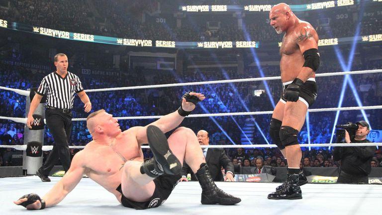 So, umm, Goldberg's WWE return lasts less than two minutes