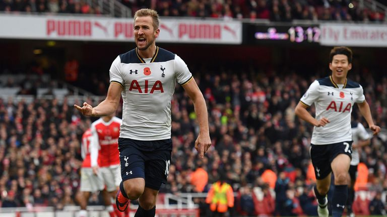 Milestone man Kane keeps Spurs in hunt