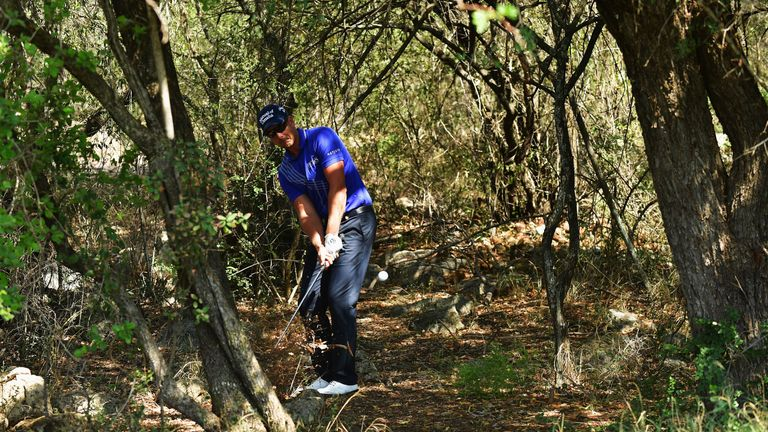 Stenson had some issues during the third round before salvaging a 69