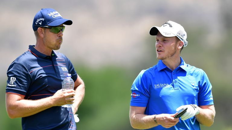 Henrik Stenson holds a commanding lead over Willett in the Race to Dubai