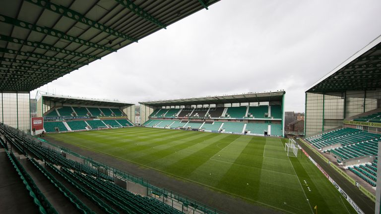 Rangers will only be able to take around 2,000 fans to Easter Road on May 13