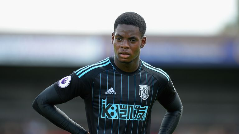 Jonathan Leko could break into the West Brom first team