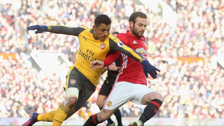 Giroud snatches point for Arsenal in 1-1 draw at Man United