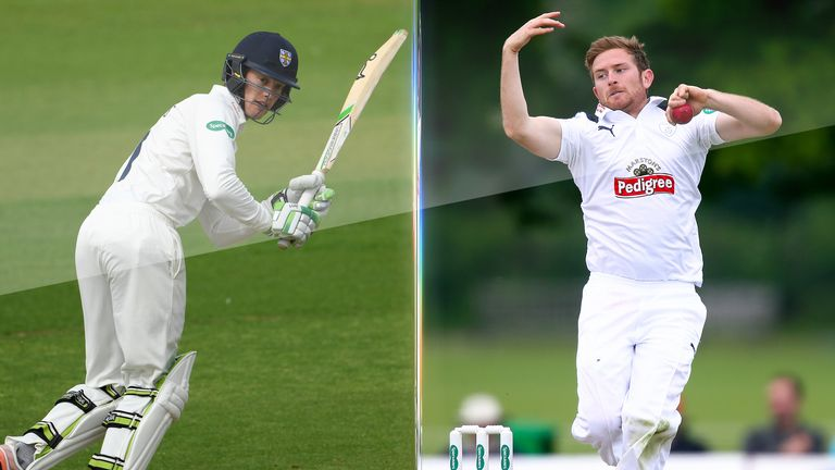 Keaton Jennings and Liam Dawson have been called up by England
