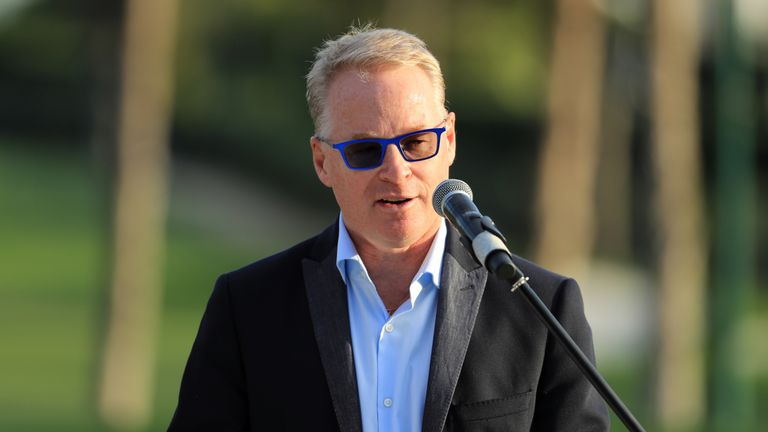 European Tour chief executive Keith Pelley is hopeful this week's event will be a success