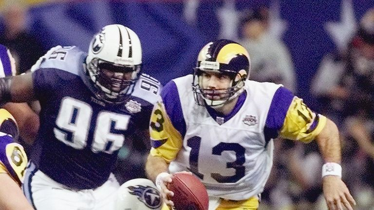 St. Louis Rams quarterback Kurt Warner played for the Amsterdam Admirals the season before he won the Super Bowl