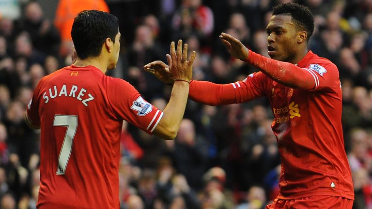 Luis Suarez and Sturridge enjoyed a fruitful partnership during their time together at Anfield
