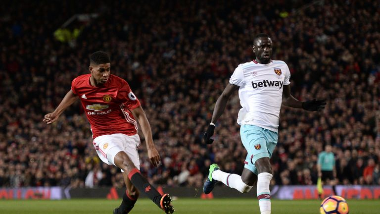 Manchester United were held to a 1-1 draw against West Ham