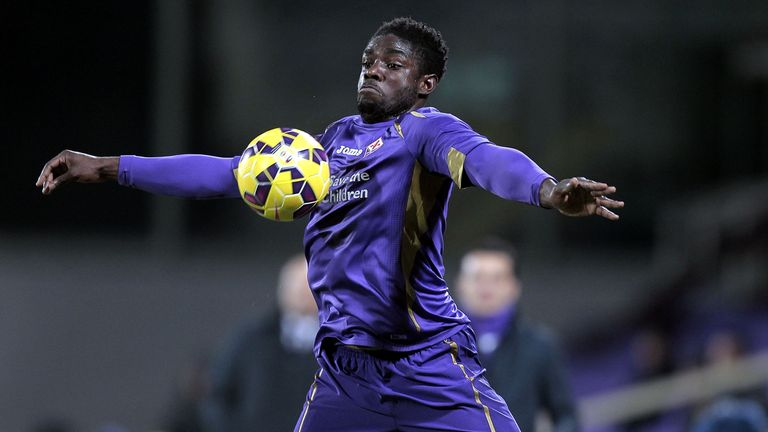Richards found his opportunities limited at Fiorentina