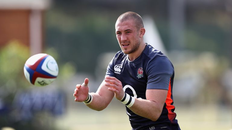 Mike Brown says May is a character within the England squad