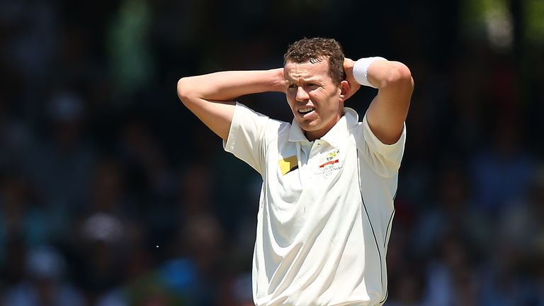 Australia's Peter Siddle ruled out of second Test against South Africa