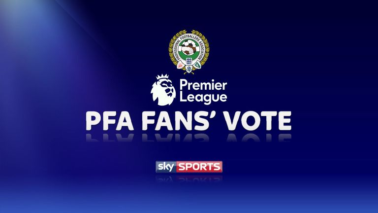 The shortlists for Novembers PFA Fans' Player of the Month have been announced