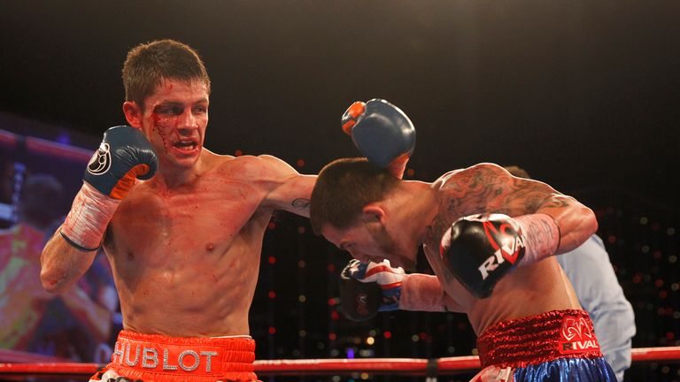 'Swifty' showed his grit in a battling points defeat to Jason Sosa