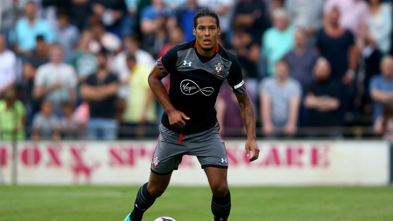 Southampton boss Claude Puel has dismissed suggestions Virgil van Dijk could leave the club