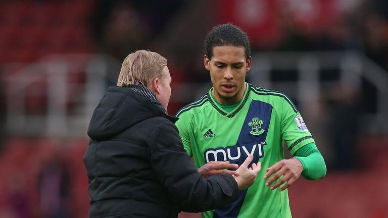 Virgil van Dijk was ever present under former manager Ronald Koeman