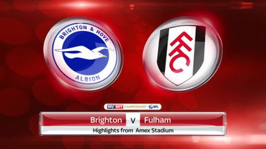 Brighton 2-1 Fulham