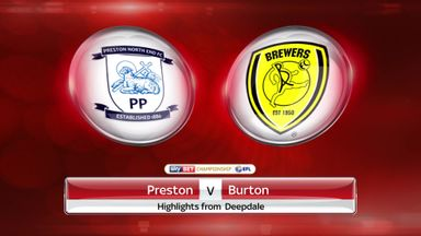 Preston 1-1 Burton