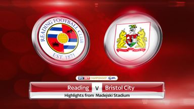 Reading 2-1 Bristol City