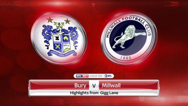 Bury 2-3 Millwall