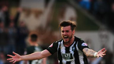 Graham Carey of Plymouth Argyle is a star in League Two