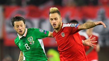 Ireland's Harry Arter hopes they have dented Austria's World Cup hopes