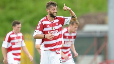 Massimo Donati has extended his stay with Hamilton Accies