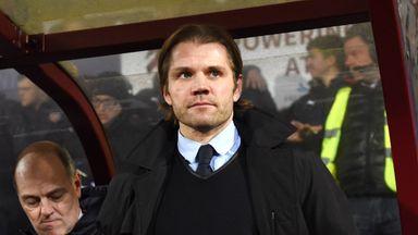 Robbie Neilson has left Hearts for Milton Keynes