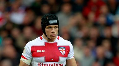Jonny Lomax retained the full-back position for the duration of England's Four Nations campaign