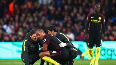 Manchester City captain Vincent Kompany is fit again after suffering a knee injury against Crystal Palace in November