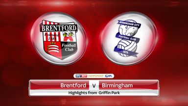 Brentford 1-2 Birmingham