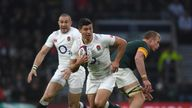 England Fully Fit For Fiji After Bruising Win Over South