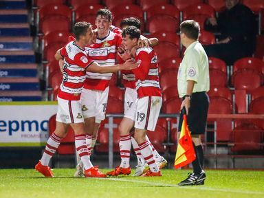 Doncaster are now top of Sky Bet League Two