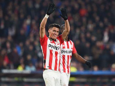 Hector Moreno: Netted PSV's winner