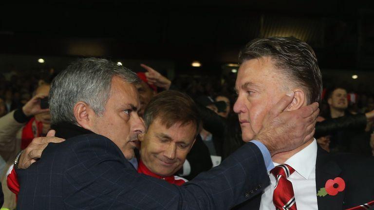 Jose Mourinho (left) has similar commitment to Louis van Gaal, says Daley Blind